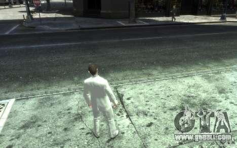 Great gray-white costume for GTA 4 fifth screenshot