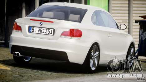 BMW 135i Coupe 2009 [Final] for GTA 4 side view