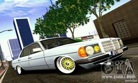 Mercedes Benz W123 for GTA San Andreas