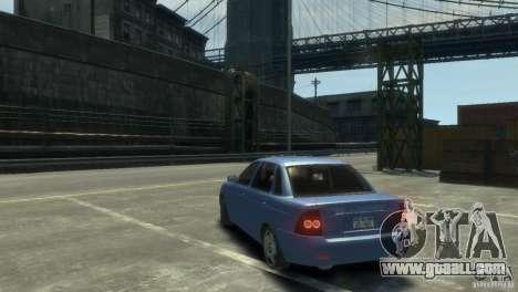 Lada Priora for GTA 4 right view