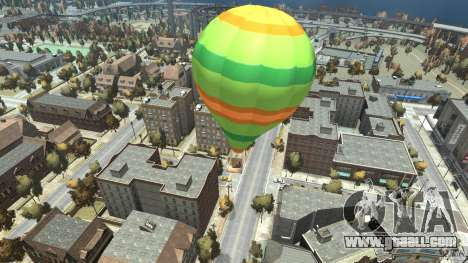 Balloon Tours option 10 for GTA 4 back left view