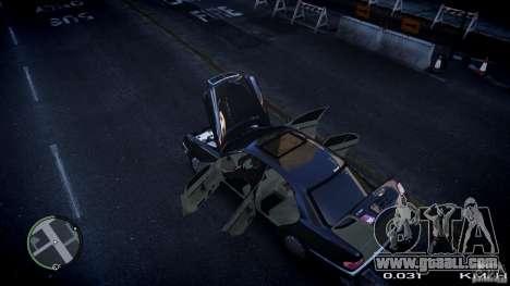 Mercedes w210 1998 (E280) for GTA 4 inner view