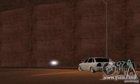 LADA priora v. 2 for GTA San Andreas left view