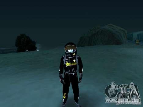Rockstar PED for GTA San Andreas