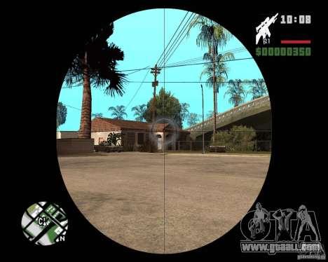 SR 25 for GTA San Andreas third screenshot