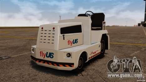 FlyUS Tugs Pack for GTA 4 left view