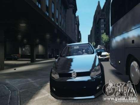 Volkswagen Gol G6 for GTA 4 inner view