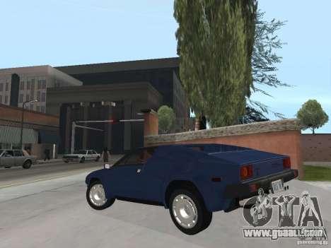 Lamborghini Jalpa P350 1984 v1.1 for GTA San Andreas left view