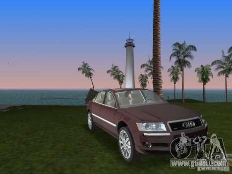 Audi A8 for GTA Vice City
