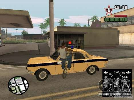 New speedometer for GTA San Andreas second screenshot