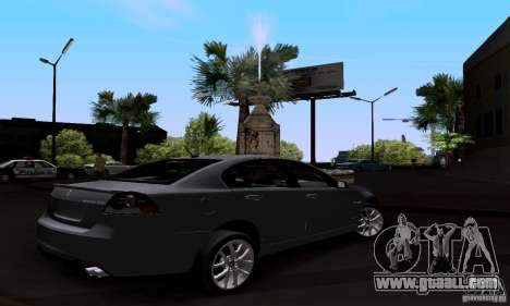 Pontiac G8 GXP for GTA San Andreas left view