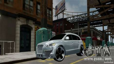Audi Q7 for GTA 4 left view
