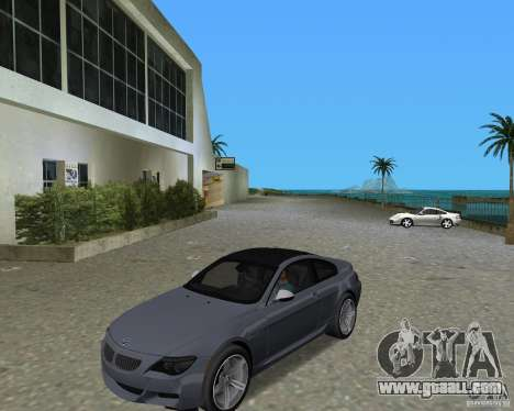 BMW M6 for GTA Vice City