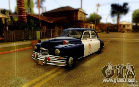 Packard Touring Police for GTA San Andreas