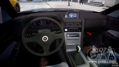 Nissan Skyline GT-R 34 V-Spec for GTA 4 back view