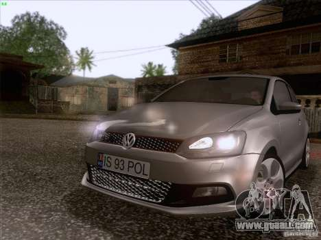 Volkswagen Polo GTI 2011 for GTA San Andreas left view