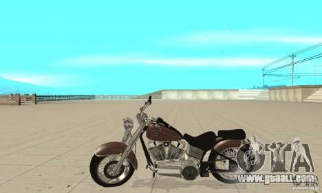 GTAIV Bobber for GTA San Andreas left view