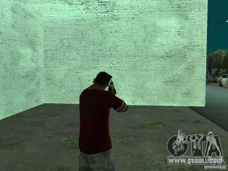 FN Scar-L HD for GTA San Andreas forth screenshot