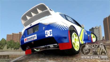 Subaru Impreza WRX STI Rallycross BFGoodric for GTA 4 inner view