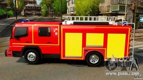 Mercedes-Benz Atego FPTGP Sapeurs Pompiers ELS for GTA 4 left view