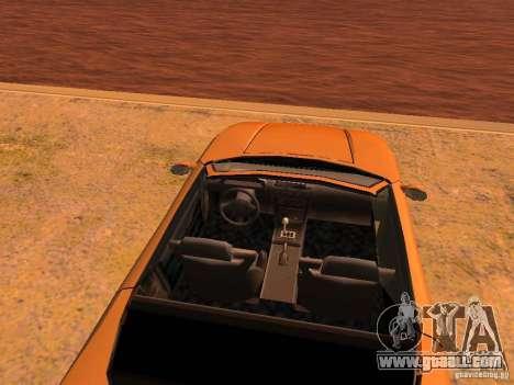 Infernus Revolution for GTA San Andreas wheels