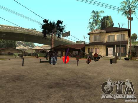 Weapons for GTA San Andreas second screenshot