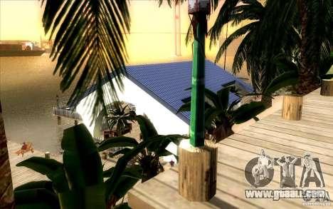 Beach Club for GTA San Andreas second screenshot