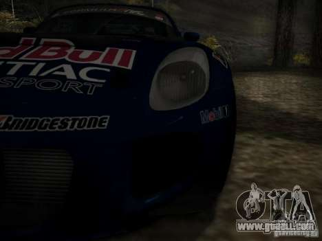 Pontiac Solstice Redbull Drift v2 for GTA San Andreas side view