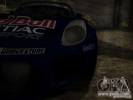 Pontiac Solstice Redbull Drift v2 for GTA San Andreas side view