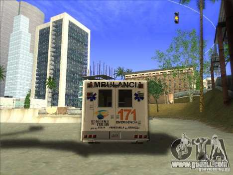 Ford E-350 Ambulance for GTA San Andreas back left view