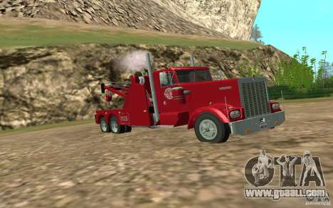 Kenworth Towtruck for GTA San Andreas