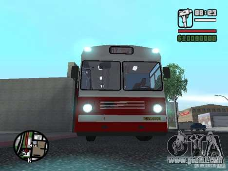 Ikarus Ik4 for GTA San Andreas back left view