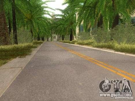 Modification Of The Road for GTA San Andreas sixth screenshot