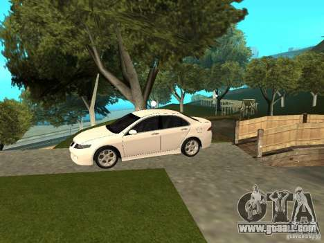 Honda Accord Type S 2003 for GTA San Andreas back left view