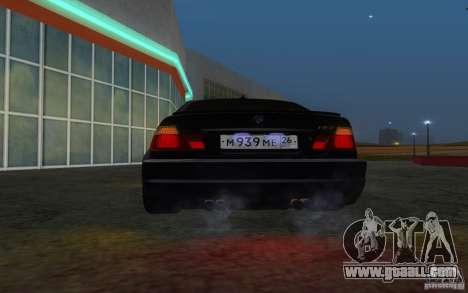 BMW M3 E46 for GTA San Andreas upper view