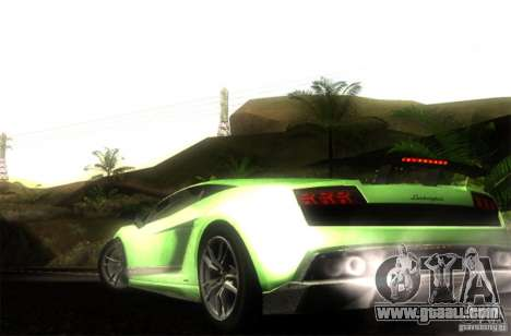 Lamborghini Gallardo LP570-4 Superleggera for GTA San Andreas left view