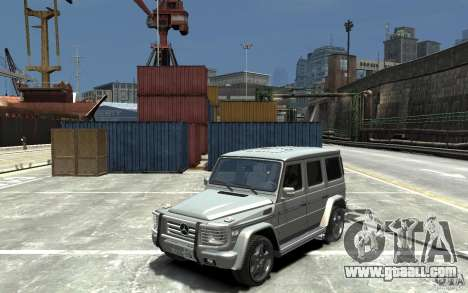 Mercedes-Benz G 55 AMG 2009 for GTA 4