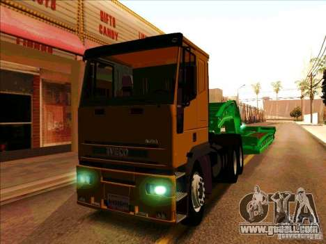 Iveco Eurotech for GTA San Andreas left view