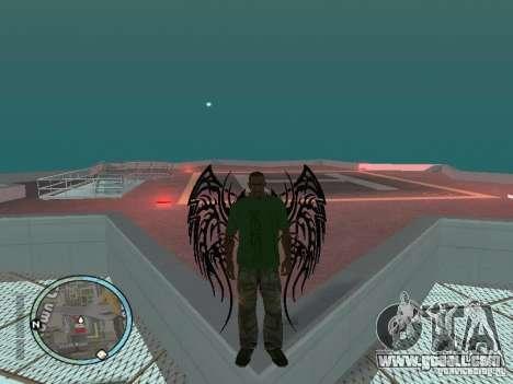 Wings-Wings for GTA San Andreas second screenshot