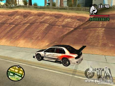 Mitsubishi Lancer Evo IX SpeedHunters Edition for GTA San Andreas left view