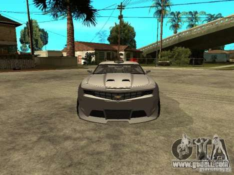 Chevrolet Camaro for GTA San Andreas left view
