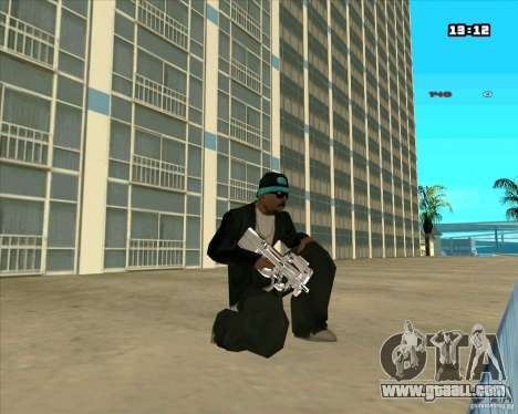 Chrome Weapon Pack for GTA San Andreas forth screenshot