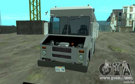Chevrolet Step Van 30 (1988) for GTA San Andreas inner view