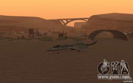 YF-23 for GTA San Andreas