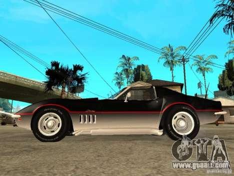 Chevrolet Corvette 1968 Stingray for GTA San Andreas