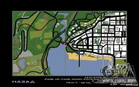 Route v1.0 for GTA San Andreas forth screenshot