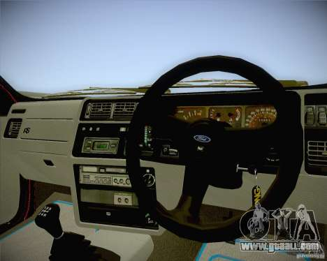 Ford Sierra RS500 Race Edition for GTA San Andreas right view