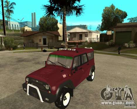 UAZ-3159 (Hunter) for GTA San Andreas