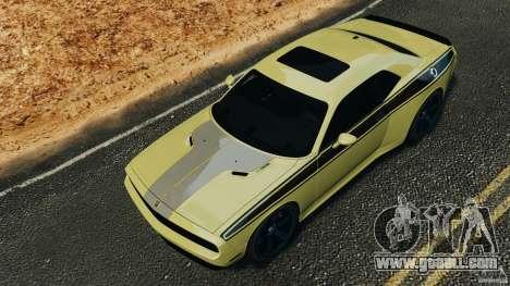 Dodge Rampage Challenger 2011 v1.0 for GTA 4 side view