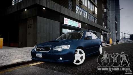 Subaru Legacy B4 GT for GTA 4